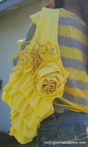 Rose Ruffle Bag