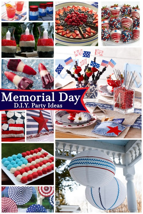 memorial day d.i.y. party ideas