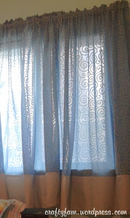short curtain panels