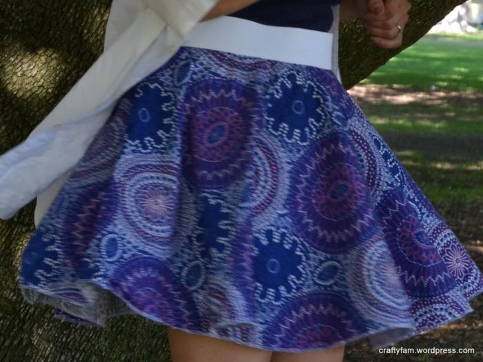 Firework Circle Skirt