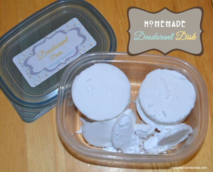 deodorant disk