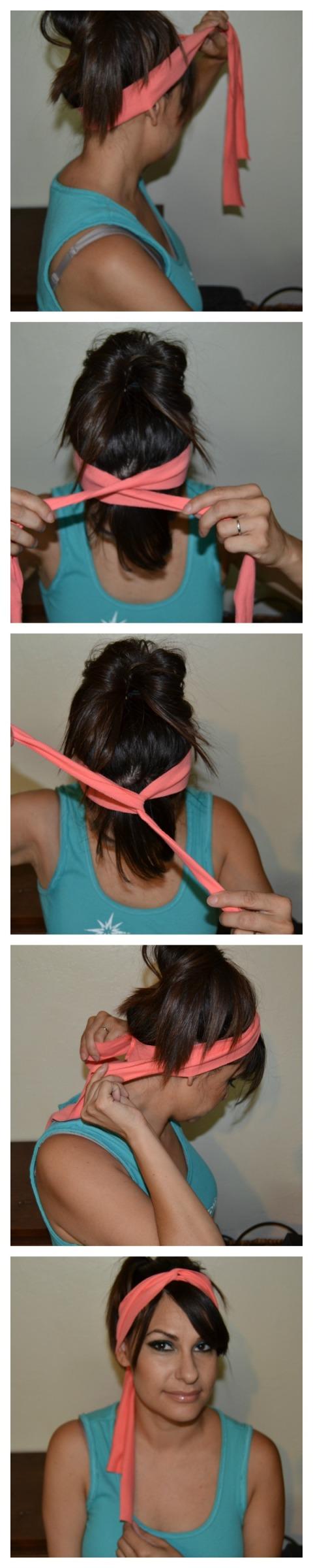headband twist