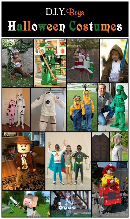 D.I.Y Boys Halloween Costumes