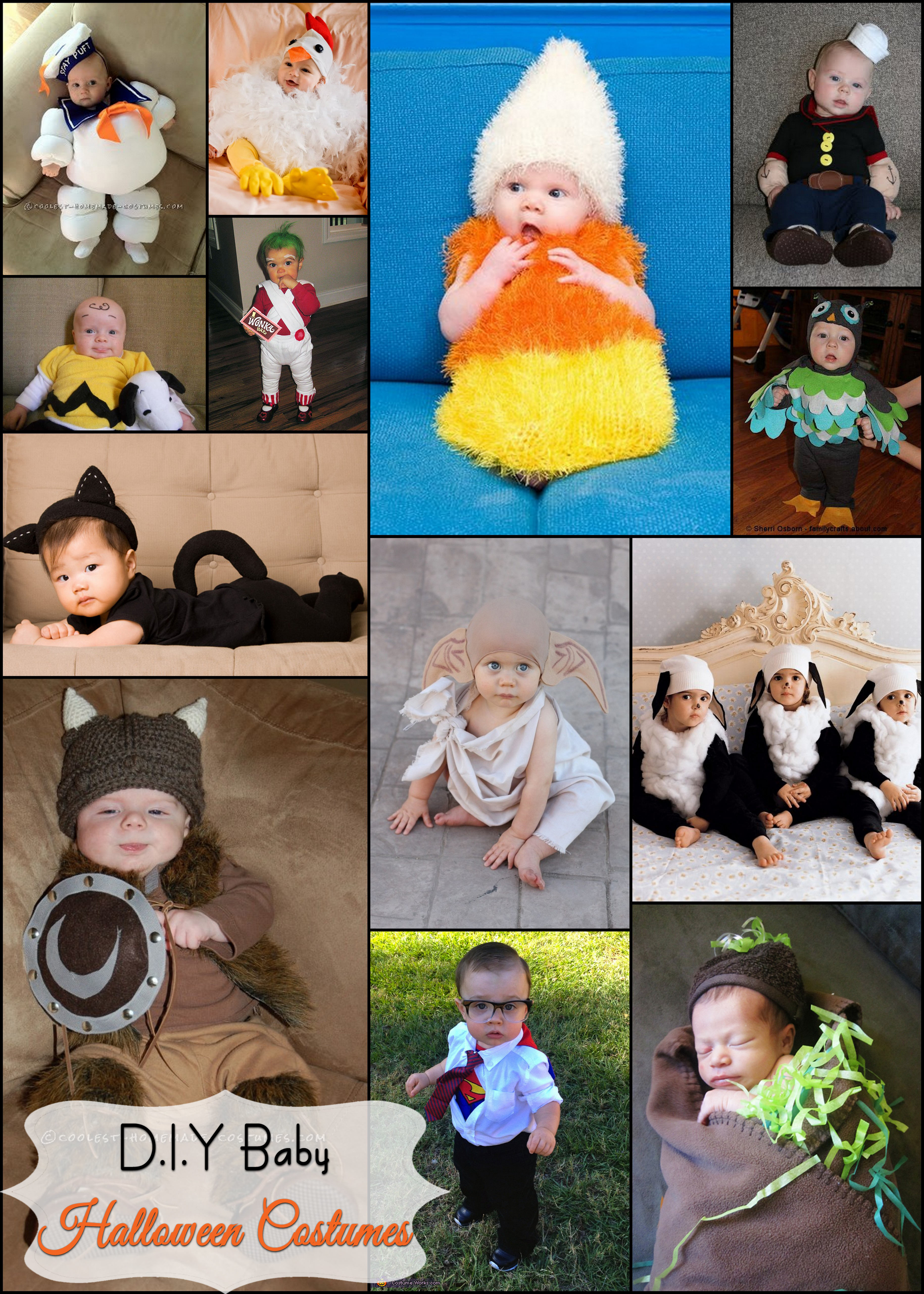 I loved when my daughters were to small to argue with me in what costumes I could put them in. There are some many out there itu0027s hard to decide what ...  sc 1 st  Crafty Family - WordPress.com & how to make a baby dobby from harry potter costume | Crafty Family