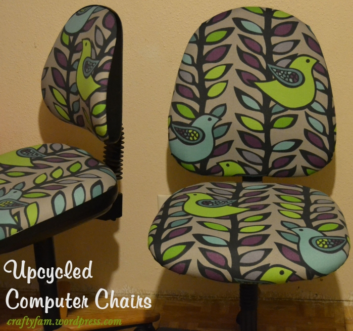 upcycled computer chairs